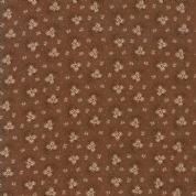 Moda - Spice It Up - 6608 -  Reproduction Floral on Brown - 38052 27 - Cotton Fabric